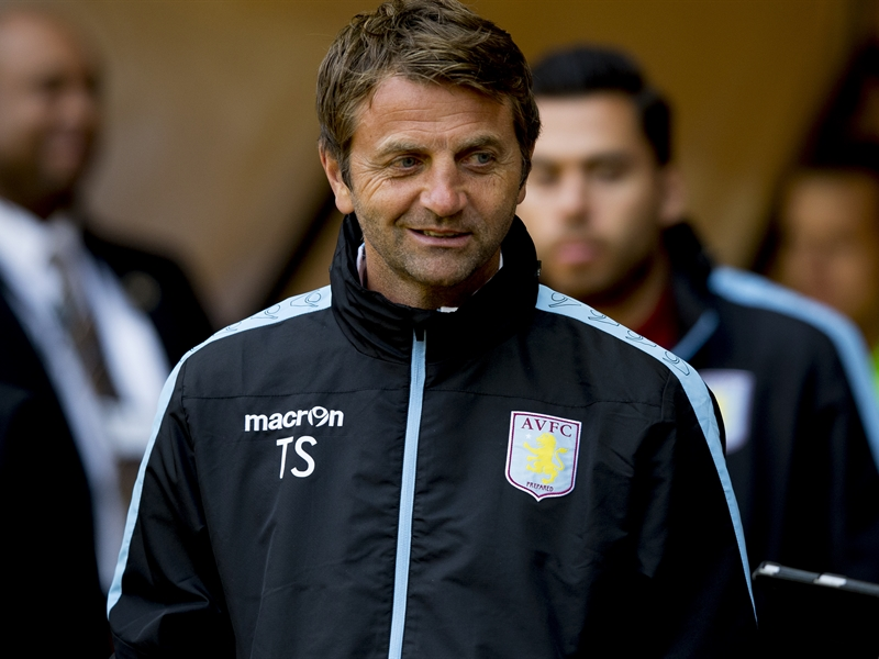 Aston Villa coach Tim Sherwood
