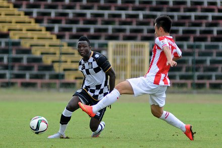 Samuel Inkoom is determined to help Boavista win