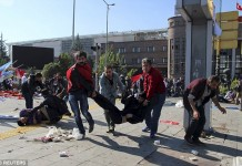 Bomb Blast Turkey kills 86