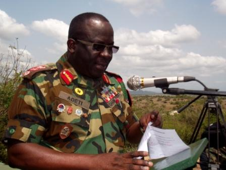 Brigadier General Sampson Adeti