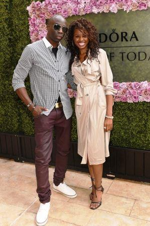 Sam Sarpong and TV host sister June