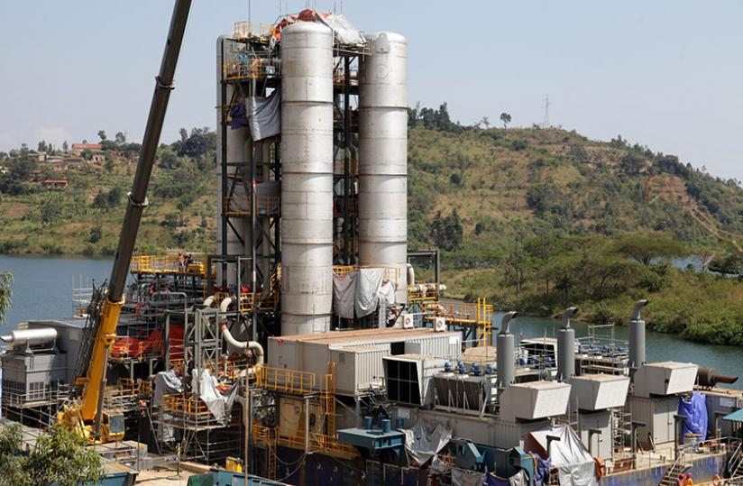 Electricity constraints is expected to reduce significantly in 2016 with the coming on grid of the 25-megawatt capacity KivuWatt Methane Gas plant. (File)