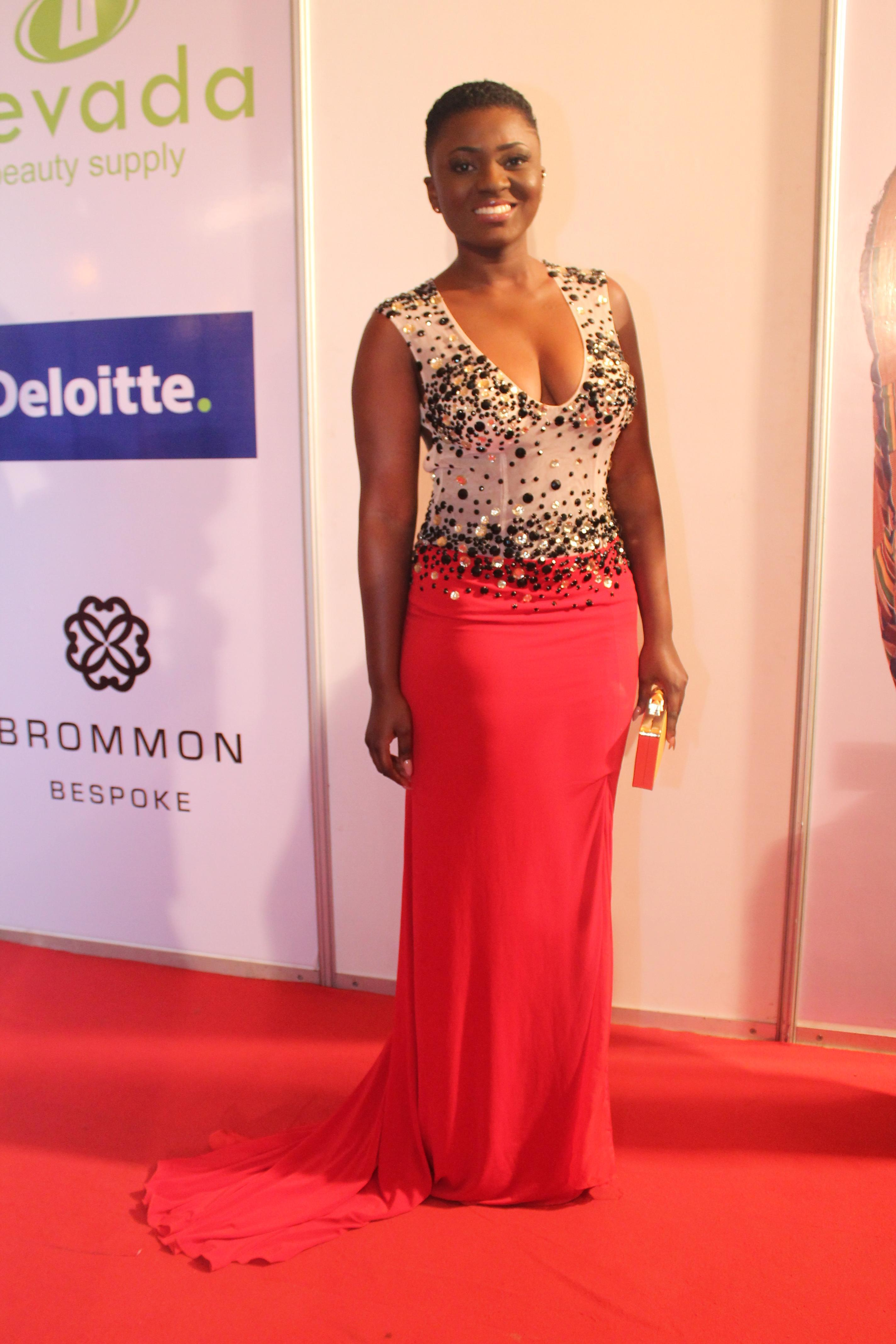 Ahuofe Patri on Red Carpet