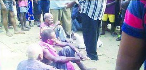 Aged Men Of Idiaba Ikot Udotan In Nsit Atai Local Government Area Of Akwa Ibom State Rounded Up As Wizards Tortured At The Last Christmas