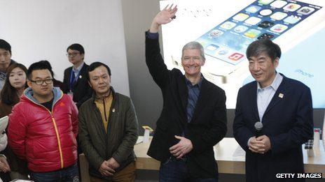 Apple Boss Tim Cook