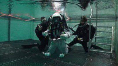 The BBC's Pallab Ghosh speaks to British astronaut Tim Peake as he trains underwater to prepare for working in zero gravity.
