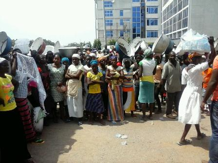 Hawkers At Police Station
