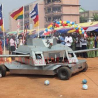 Kantanka Remote Controlled Armoured Car X