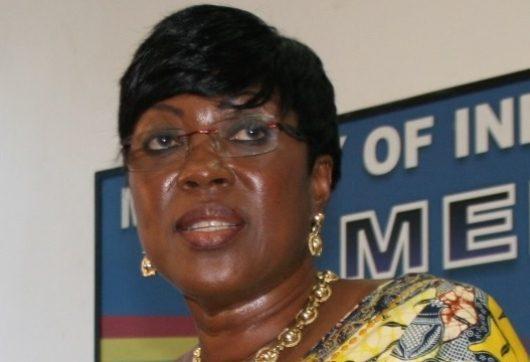 Transport Minister, Madam Dzifa Attivor