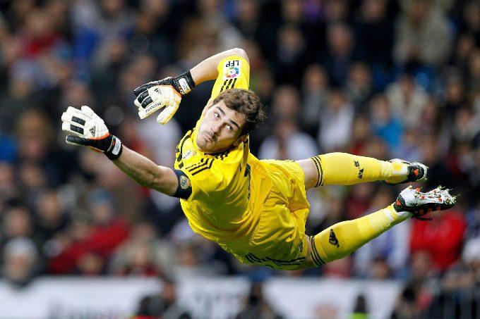 Goalkeeper Iker Casillas