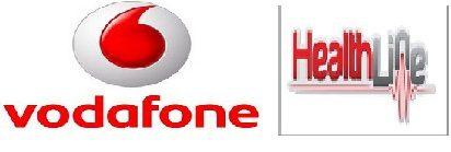 Vodafone Healthline Logo N