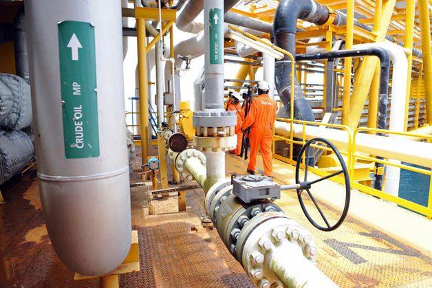Upstream Oil Drilling Platform