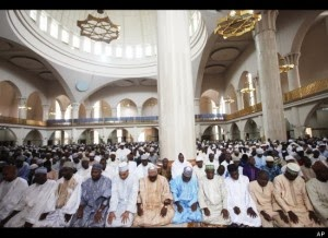 Wpid Nigerian Muslims Inside The Central Mosque In Abuja X