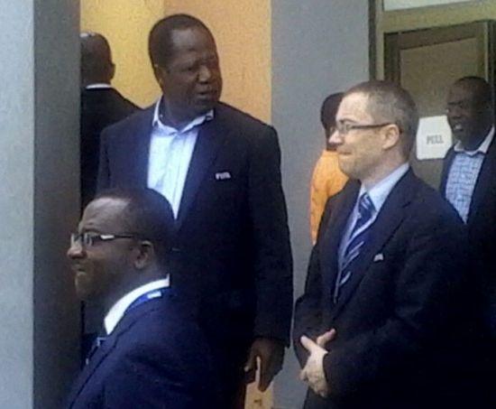 Wpid Fifa Delegation In Ghana