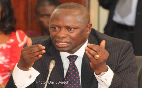 Energy Minister Emmanuel Armah Kofi Buah
