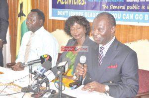 National President of the Glaucoma Association of Ghana (GAG), Mr Harrison Abutiate