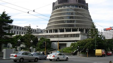 New Zealand's economy was among the fastest growing in the developed world