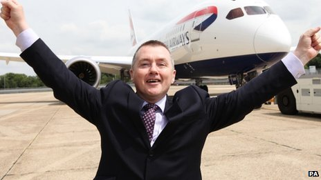 Willie Walsh said BA had solid revenues