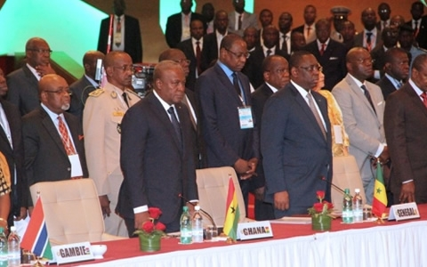 Some Leaders of ECOWAS