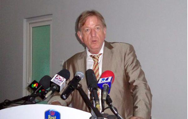 EU Ambassador, Claude Maerten