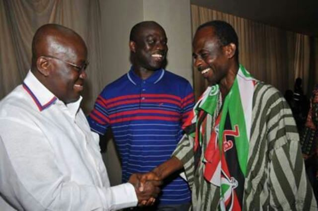 Nana Akufo-Addo and Johnson Asiedu Nketia