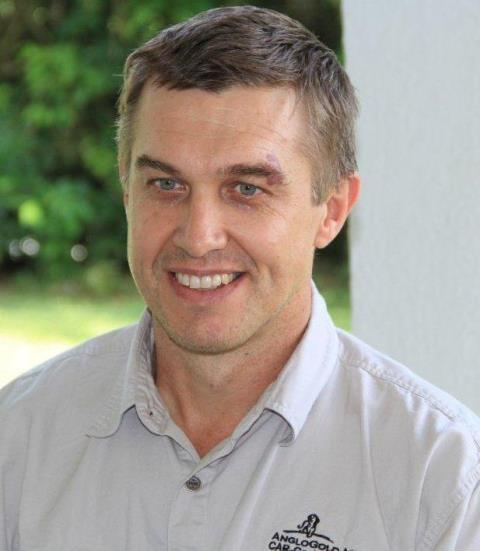 Mark Morcombe, Senior Vice President, AGA Ghana