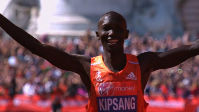 Kipsang storms to London Marathon win
