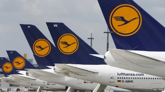 The airline says that it is trying to rebook customers on to other carriers