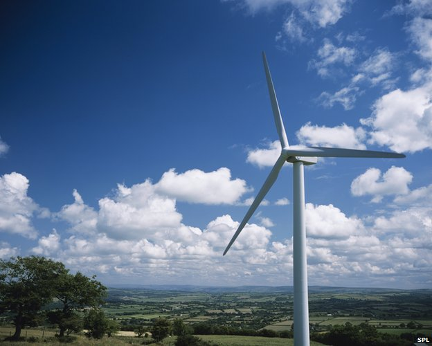 Onshore wind turbines are one of the cheapest sources of low carbon energy