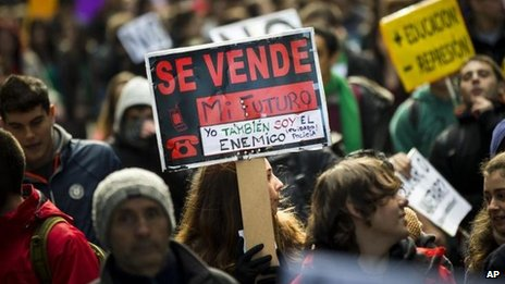The scale of Spain's spending cuts has been unpopular, but it still failed to meet EU targets