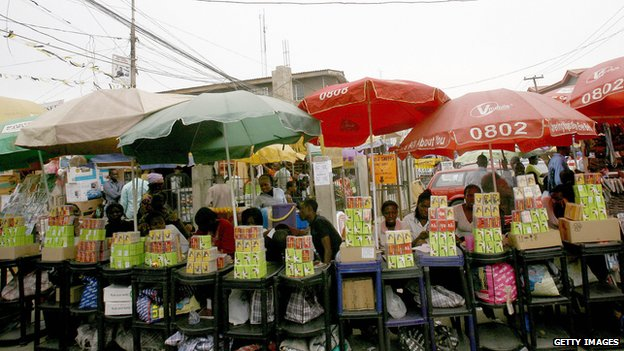 The mobile phone industry is now massive in Nigeria - 25 years ago, it did not exist