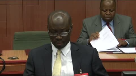 Mr Ato Forson a Deputy Finance Minister