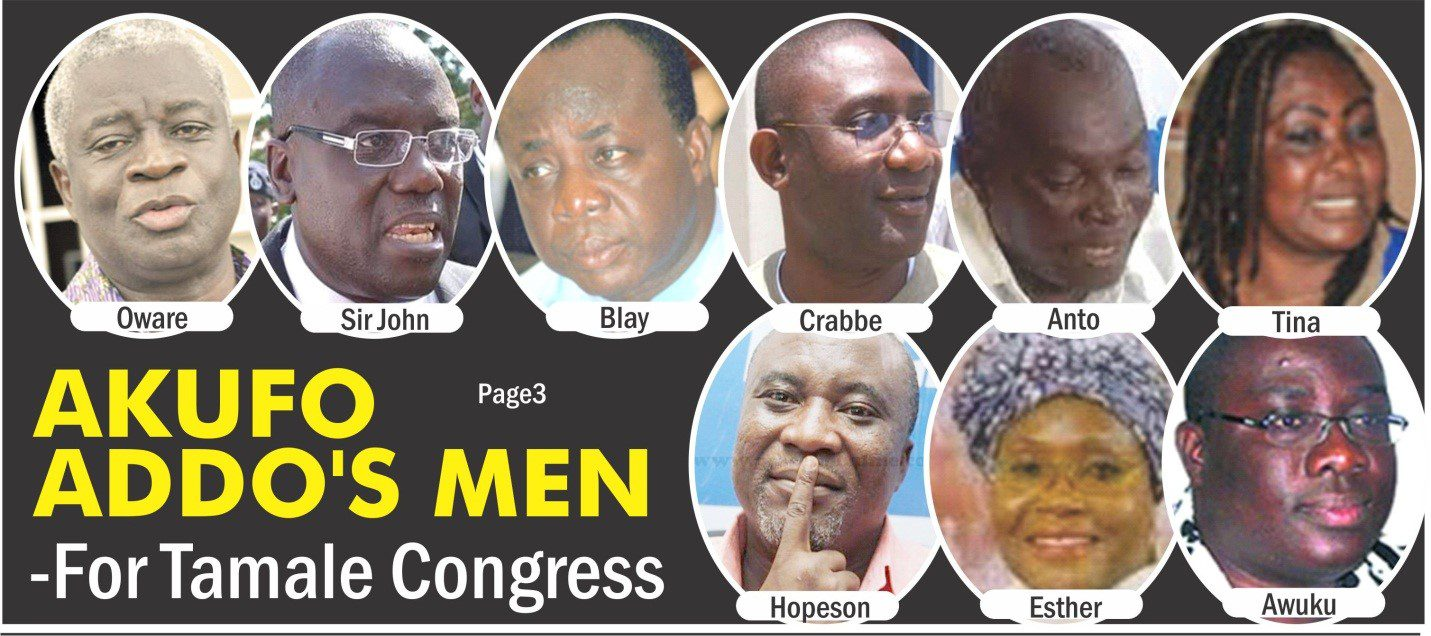 Akufo-Addo?s Alleged Choices for NPP 2014 Congress