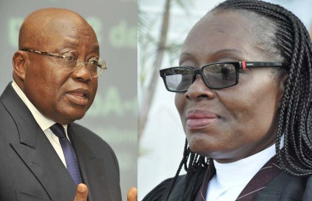 Nana Akufo-Addo and?Gloria Akufo