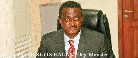 Kwaku Ricketts-Hagan, Deputy Finance Minister