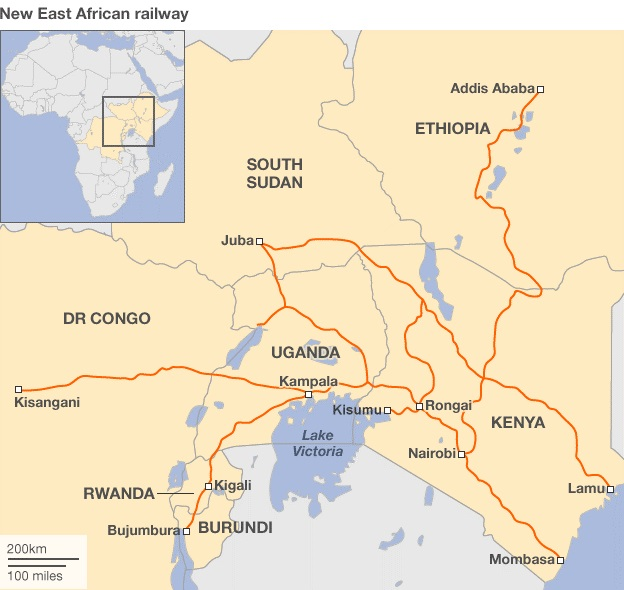 New East Africa Railway