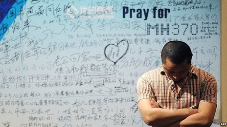 ? Most of the passengers on Malaysian Airlines Flight 370 were from China