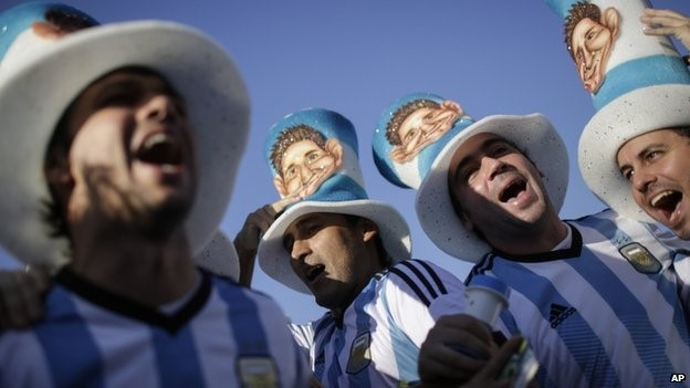 Argentina's fans are a boost to their team but a burden on their economy?