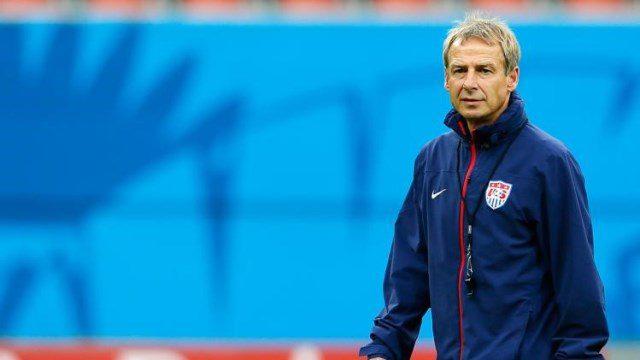 Head coach Jurgen Klinsmann of the United States ?