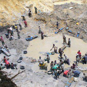Massive Illegal Mining