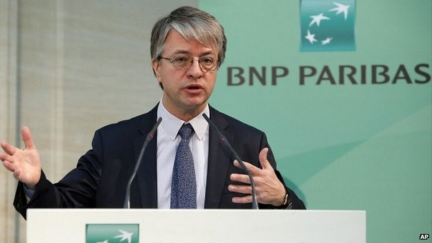 Mr Bonnafe said the fine must not affect the bank's future plans