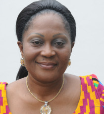 Mrs Lordina Mahama