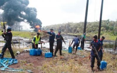 pipeline vandal
