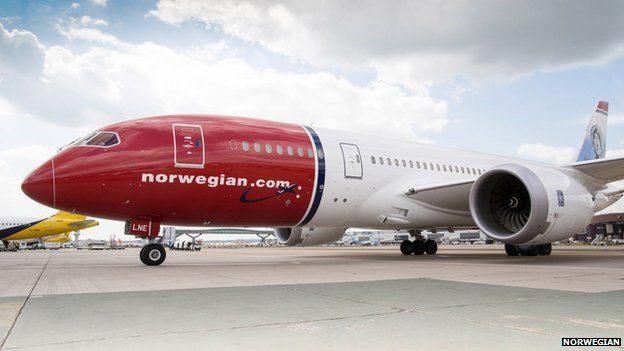 Norwegian direct airline