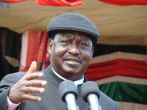Raila Odinga,