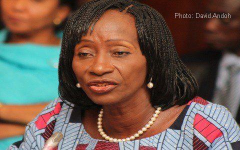 Health Minister Sherry Ayitey