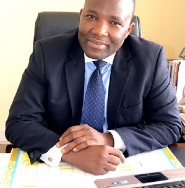 Mr Sebastian Deh, Executive Director of the Council for Technical and Vocational Education and Training (COTVET)