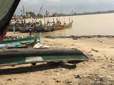 Shama fishermen