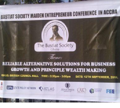 Logo of Bastiat Society Ghana