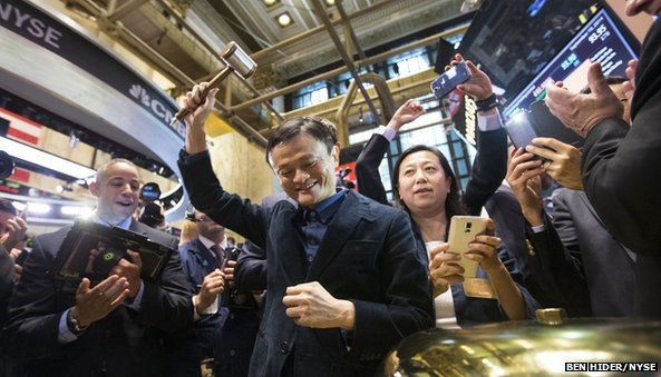 """Jack Ma has approached """"cult status"""" in China, says the BBC's Michelle Fleury ?"""